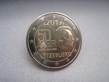 """Luxemburg 2 Euro Gedenkmünze 2017 unc. """"50 Jahre Freiwilligenarmee"""""""