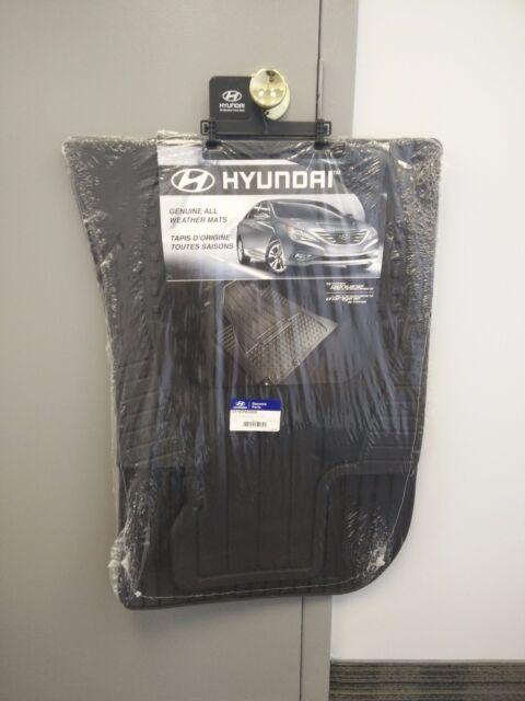 Hyundai Genesis Sedan 11 12 13 Genuine OEM All Weather Floor Mats Fronts