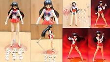 Sailor moon sailor mars Hino Rei Anime Manga Figuren Set H:15cm Neu
