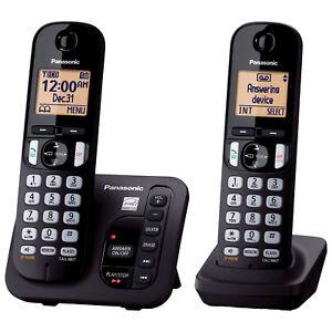 Panasonic-2-Handset-DECT-6-0-Cordless-Phone-With-Answering-Machine-KXTGC222B
