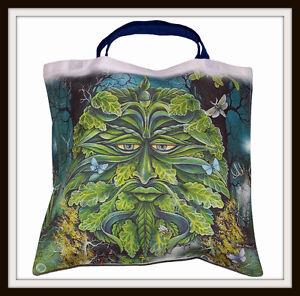 Beautifu Designed Crow Green Beak Tote bag hh968r