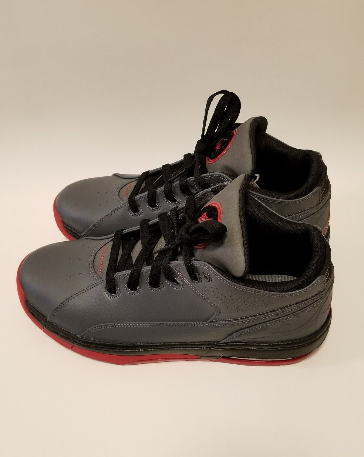 Jordan OL' School Low Men's Shoes Dark Grey/Gym Red-Black 317765-007 Comfortable Cheap women's shoes women's shoes