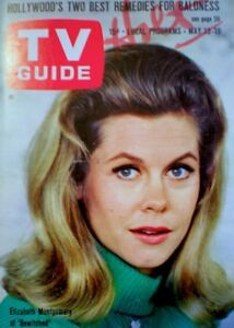 TV-Guide-1967-Bewitched-Elizabeth-Montgomery-Phyllis-Diller-VG-EX-COA-Rare
