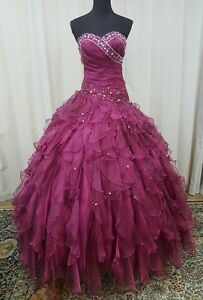 e4aa165b809 NEW Princess by Mary s Quinceanera Sweet 16 Ball Gown Prom Dress ...