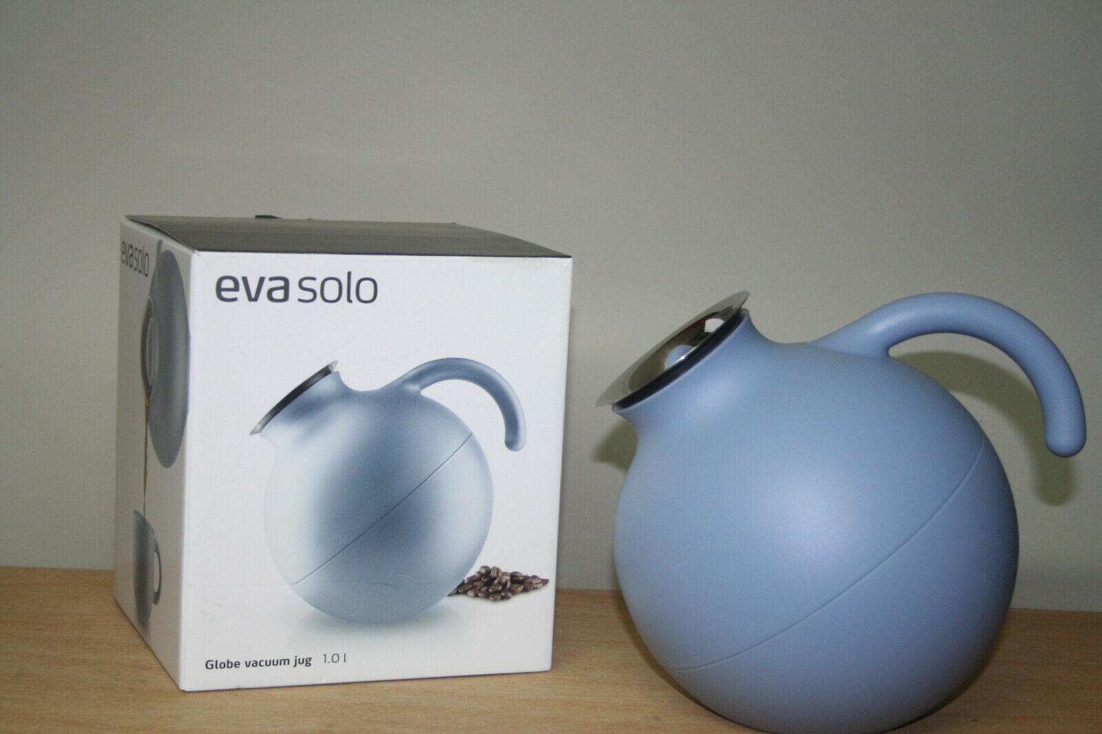Eva Solo Thermos, Isolierkanne, globe vaccuum Jug, 1,0 Ltr. Nordic bleu