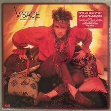"""VISAGE - Visage EP (Vinyl LP - incl. """"Fade To Grey"""") 1982 Polydor PX1-501"""