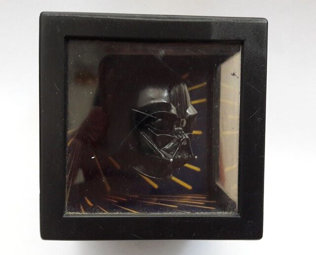 Die dunkle bedrohung 3d - star wars episode 1 darth vader sky walk spiegelbox, 1999
