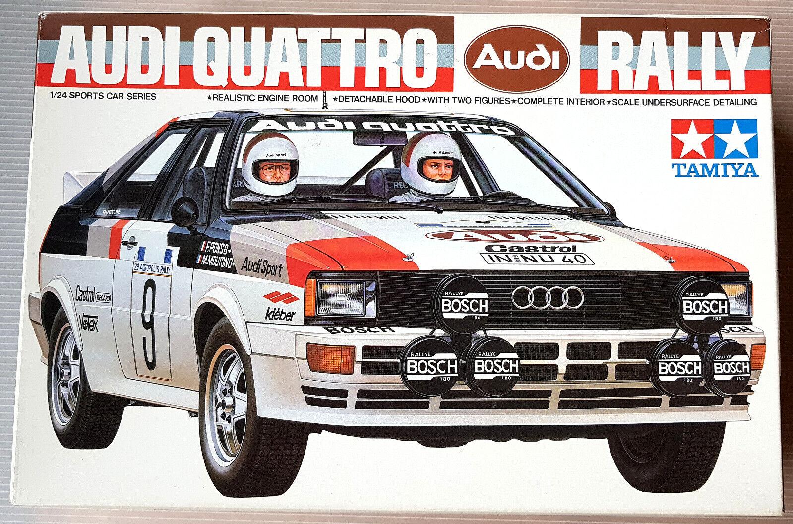 Audi Quattro Rally Tamiya  1-24 1 24  magasin discount