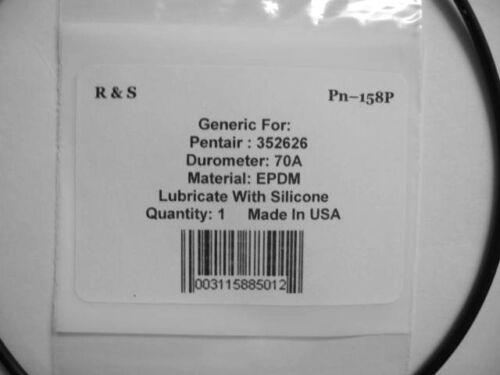 FDA EPDM Material R/&S158P Pentair 352626 Volute O Ring// Hydro-700 Pump