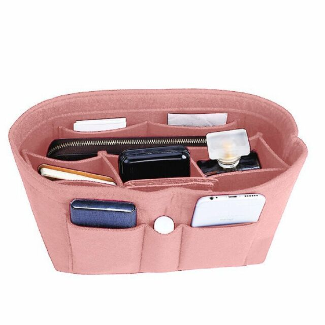 cf4882aad2f8 Felt Insert Bag Organizer Bag In Bag For Handbag Purse Organizer, Six Color