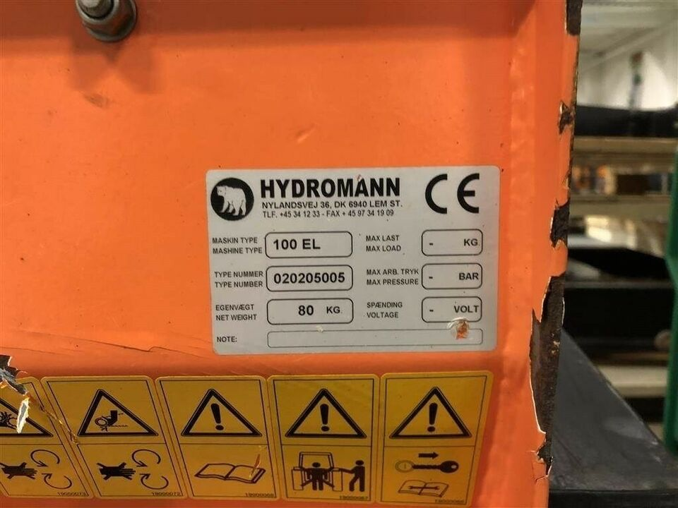 Hydromann 100 EL