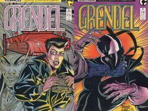 GRENDEL 1986 Comico #2 & #3 Nov & Dec Matt Wagner