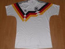 GERMANY DEUTSCHLAND 1988 / 1991 FOOTBALL SHIRT JERSEY HOME ADIDAS SIZE M