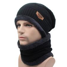 81d3701a84b AKIZON Winter Beanie Knitted Hat Scarf Skullies Beanies Men Winter Hats For  Men