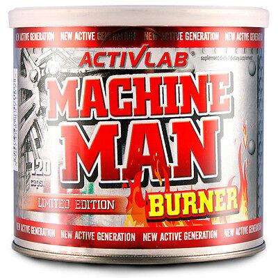 ActivLab Machine Man Burner 120 Caps - STRONGEST FAT BURNER SLIM FAST Pills