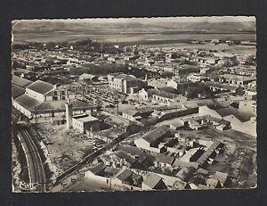 SAINT-ARNAUD-ALGERIE-VOIE-FERROVIAIRE-amp-VILLAS-en-vue-aerienne-en-1953