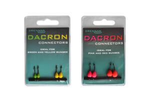 GéNéReuse Drennan Dacron Connecteurs-divers Tailles Disponibles-afficher Le Titre D'origine Construction Robuste