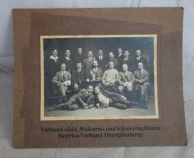 Antiquitäten & Kunst PüNktlich Alte Fotografie Verband Süddeutscher Molkerei Käsereifach Obergünzburg Starker Widerstand Gegen Hitze Und Starkes Tragen