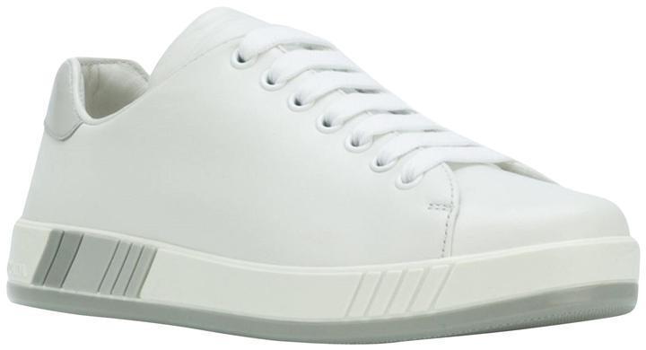 Prada LOW TOP zapatillas, blancoo 39 MSRP   595.00