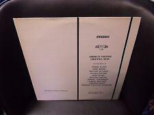 Berkeley Chamber Singers American Colonial Christmas Music LP MHS VG+