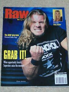WWE-MAGAZINE-RAW-SEPTEMBER-2001-WRESTLING-CHRIS-JERICHO-COVER-WWF