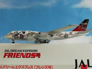 netmodels-1-500-RARE-JAL-B747-034-Disney-Friends-034-plus-Herpa-Wings-Kataloge