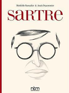 Sartre-by-Mathilde-Ramadie-amp-Anais-Depommier-2017-Hardcover-Graphic-Novels