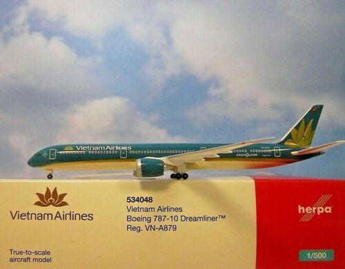 Herpa Wings 1:500  Boeing 787-10  Vietnam Airlines  534048  Modellairport500