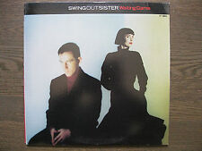 """SWING OUT SISTER~WAITING GAME (REMIXES)~SYNTH DANCE CLASSIC 12"""" *NM ORIGINAL*"""