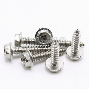 M3 M4 M5 Phillips Cross Flange Head Stainless Steel Self Tapping Screws