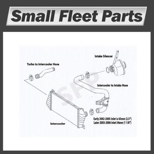 Dodge MB Freightliner Sprinter 901 528 39 82 Hose Intercooler to Intake Assy