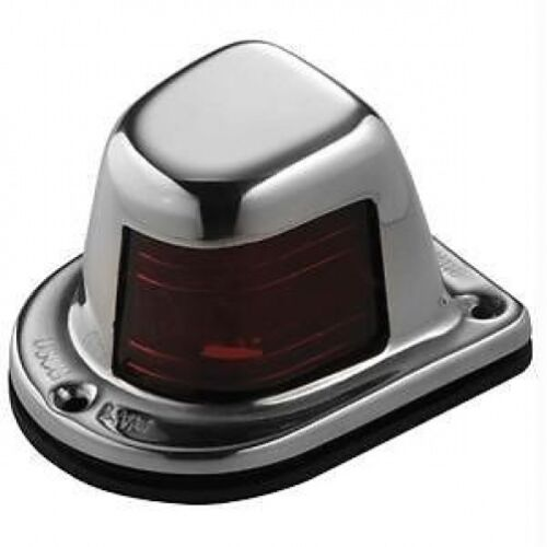 Port-Red NEW Model 663 Attwood Stainless Steel 1-Mile Deck Mount Sidelight