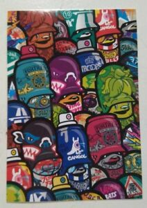 THE-FLYING-FORTRESS-STICKER-TEDDY-TROOOPS-10x7cm-STREET-ART-PEGATINA