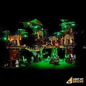 LIGHT-MY-BRICKS-LED-Light-kit-for-LEGO-Star-Wars-Ewok-Village-10236