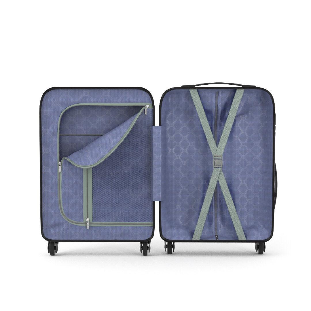 Trolley rigido Borsaaglio 55 a mano valigia voli 4 ruote 55 Borsaaglio x 35 x 20 cm Rose oro 137f19