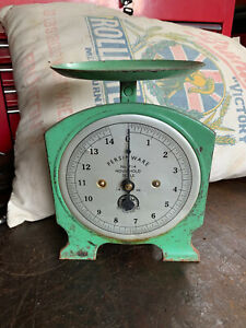 Vintage 14lb Persinware No. 714 Household Scale, Made in Australia