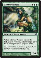 Testimone Eterna - Eternal Witness MTG MAGIC MM Modern Masters English