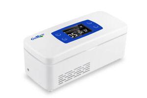 Kleiner Kühlschrank Für Medikamente : Gomore thermoisolierter insulin mini kühlschrank 2 8°c kühltasche