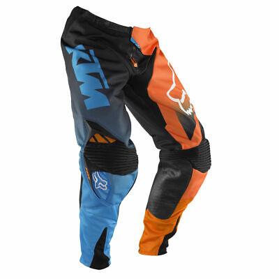 Neuf Pantalon Motocross Enduro Fox Racing 360 Ktm Race Noir Orange Bleu Promo Ebay
