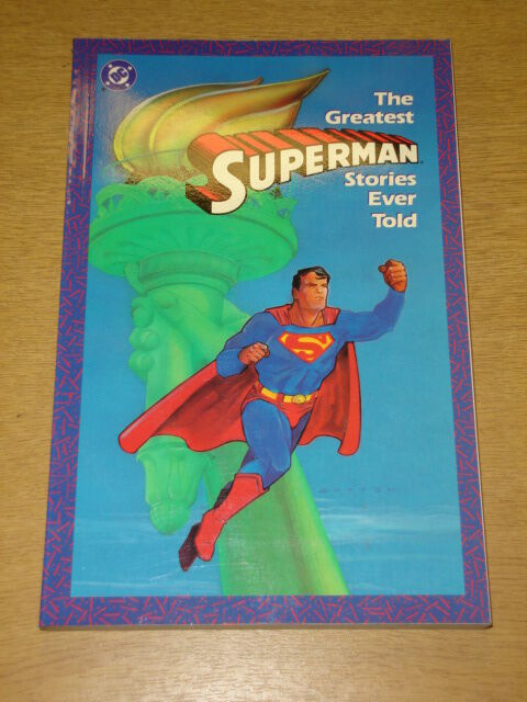 SUPERMAN GREATEST STORIES EVER TOLD VOL 1 GRAPHIC NOVEL 0930289390
