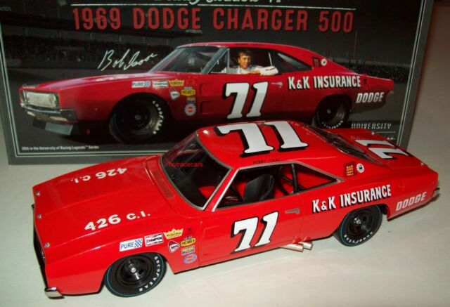 Bobby Isaac 71 1969 Dodge Charger 500 University Of Racing 1 24 Ebay