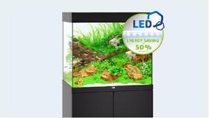 Acquario juwel lido new illuminazione led accessoriato filtro
