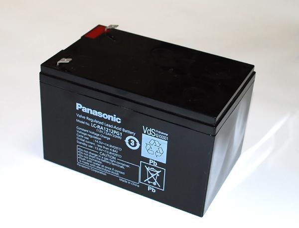 Panasonic Blei Gel-Akku Gel-Akku Gel-Akku 12V 12Ah VdS-Zul LC-RA1212PG1    Verbraucher zuerst  4fb974