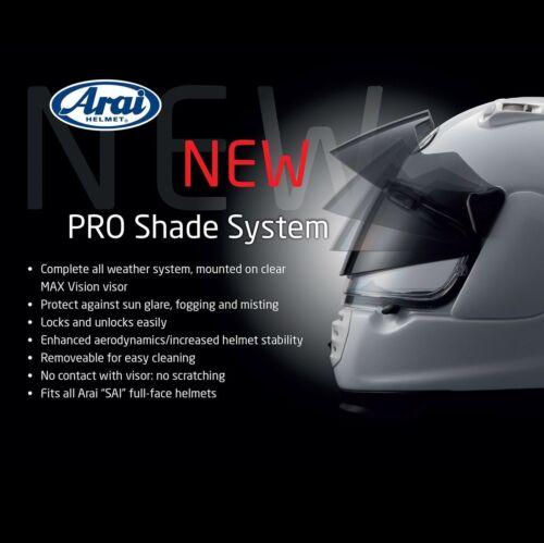 Arai shield visor  SAI Pro Shade System RX7RR5 Corsair-V RX7 GP Astro-IQ RX-Q