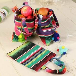 6 mexican tote bags mini candy treat bag mexican fiesta