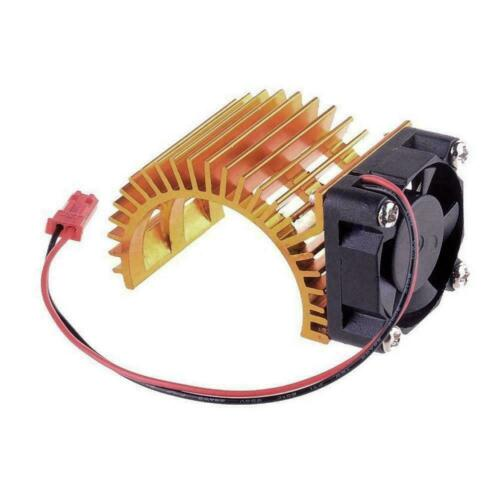 Motor Heat Sink with Cooling Fan For 1//10 HSP RC Car Motor Parts Z3X8