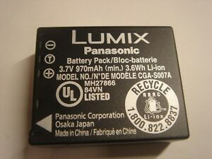 Batterie-D-039-ORIGINE-PANASONIC-CGA-S007A-1B-CGA-S007E