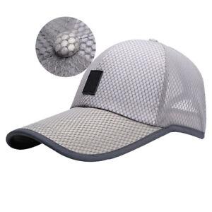 france pas cher vente meilleur site sélection spéciale de Détails sur Unisexe Mode Casquette Baseball Chapeau Bonnet Filet Maille  Golf Visière Soleil