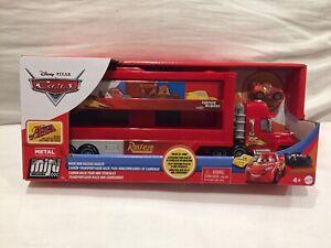Disney-Pixar-Cars-MINI-RACERS-MACK-amp-LIGHTNING-MCQUEEN-TRUCK-HAULER-TOKYO-DRIFT