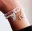 NEW-Thomas-Sabo-Rose-Quartz-and-Pearl-Stretch-Bracelet-Sterling-Silver-Pink thumbnail 2